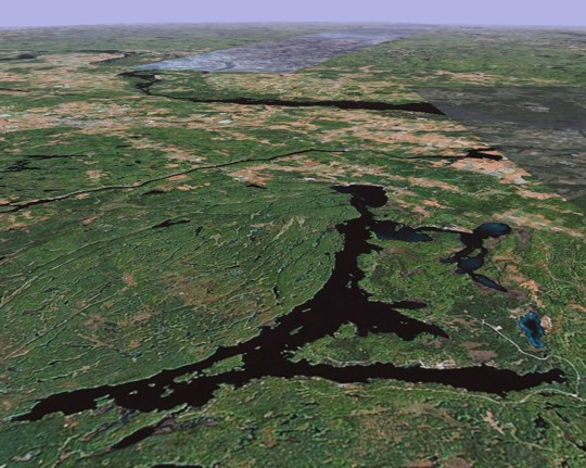white lake ontario fishing map Maps Discover Incredible White Lake Ontario Canada white lake ontario fishing map