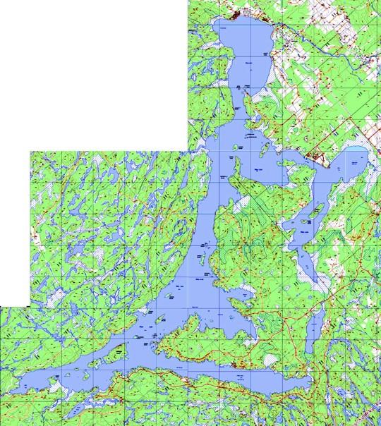 Maps Discover Incredible White Lake Ontario Canada - Ontario fishing lakes maps